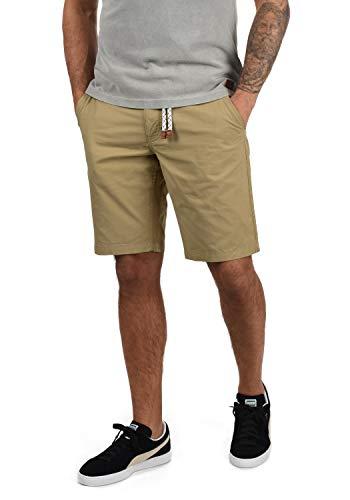 Blend Ragna Chino Pantalón Corto Bermuda Pantalones De Tela para Hombre con Cinturón De 100% Algodón Regular-Fit