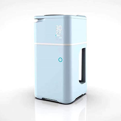 Mini sojamelk maker, 600ml automatische schoonmaken en koken machine, multi-functionele automatische verwarming, een laag geluidsniveau, filter-minder drinken