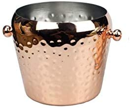 WJCCY Stainless Steel Copper Plating Single Las Vegas Mall Hammer Me Dots Reservation Layer