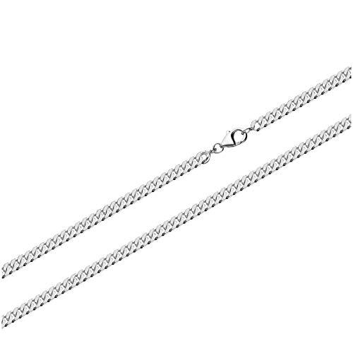 NKlaus 925 Sterling Silber Kette PANZERKETTE 50cm Königskette 2,50mm Breit 7,92gr 5200