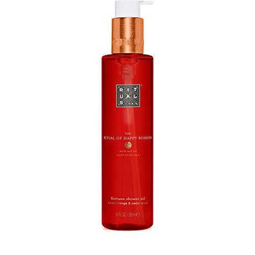 RITUALS The Ritual of Happy Buddha Shower Oil Duschöl, 1er Pack (1 x 200 ml)