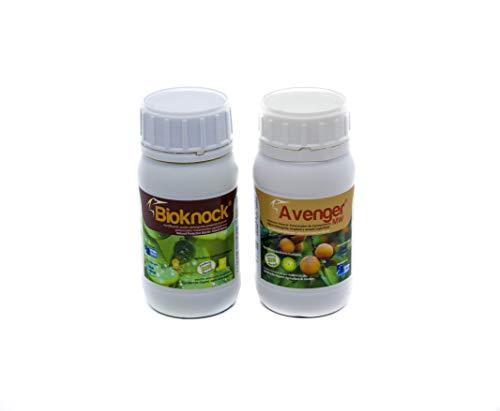 AVENGER MW Lot Bioknock® + Avenger® 200 ml concentré : Premium Protection naturelle (Insects-fungi) et engrais spécial Duo pour des Solutions de complète. L'agriculture et jardin.