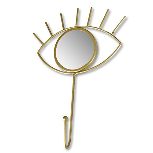 Gancho de ojo dorado