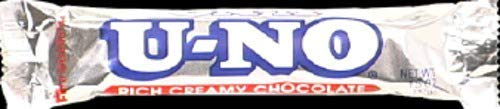 U-NO Chocolate Bars: Anabelle Candy (Box of 12)