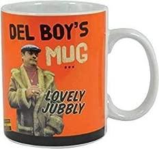 Only Fools And Horses Del Boy Lovely Jubbly Orange Ceramic 15oz Mug (One Size)