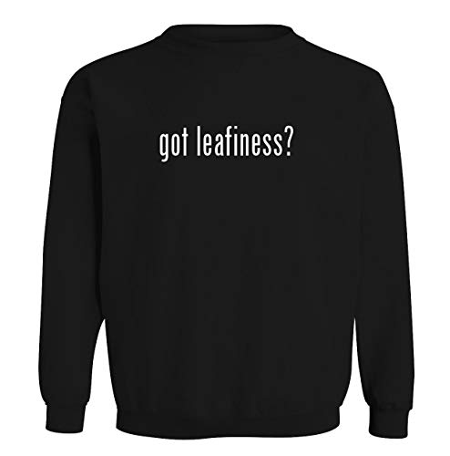 got leafiness? - Men's Soft & Comfortable Long Sleeve T-Shirt, Black, XX-Large