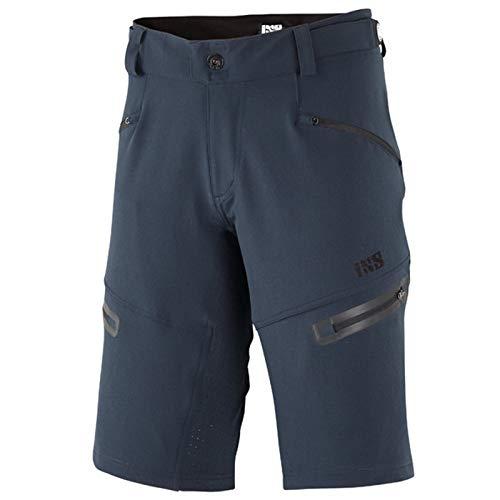 IXS Herren Mountainbike Shorts Sever 6.1 BC, Marineblau, 2XL, IX-SHO-6410