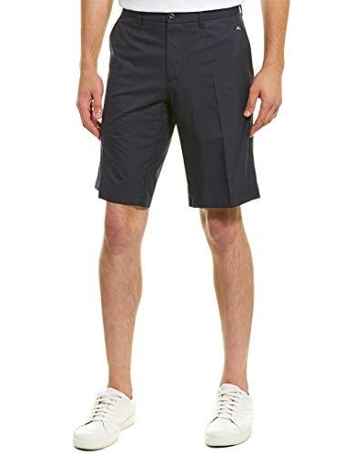 J.Lindeberg Men's Somle Light Poly Shorts, JL Navy, 34