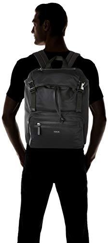 TOUS Mochila Solapa New Berlin Hombre, Negro (Negro), 32x36x17 cm (W x H x L)