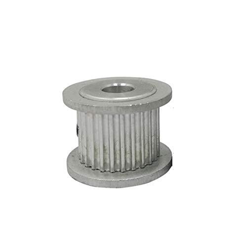 Jinchao-Polea de distribución Impresoras 3D GT2-32T Polea de Tiempo, Orificio Interior 5/6 / 6.35/7 / 8mm, Rueda de polea de Aluminio, Ancho 7/11 mm, Ajuste para cinturón de Tiempo de 6/10 mm, Preci