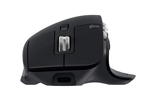 Logitech MX Master 3 Advanced Maus – Schwarz – Business Edition [Dual Connect, 2,4GHz & Bluetooth] - 5