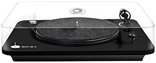 Elipson Alpha 100 Turntable with Ortofon OM10 Cartridge - Black