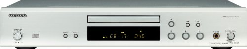Onkyo DX 7355 CD-Player Silber
