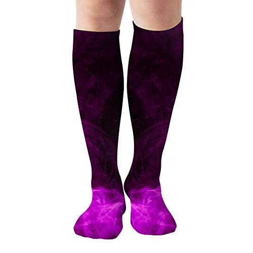 Fantasy Print Clothes Tshirts Sweatshirts Colorful Abstract Compression Socks Women & Men - Best For Running,Medical,Athletic Sports,Flight Travel, Pregnancy,19.68 Inch