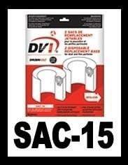 Drainvac 出群 Central 交換無料 Vacuum Bag SAC-15