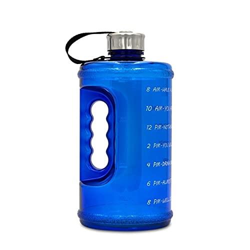 CCLIN 2.2L Botella de plástico Granted GRANGADO Bouncing Bouncing Deportes Botella Espacio Taza de Espacio Deportes al Aire Libre Senderismo Camping Kettle Botella de Consumo