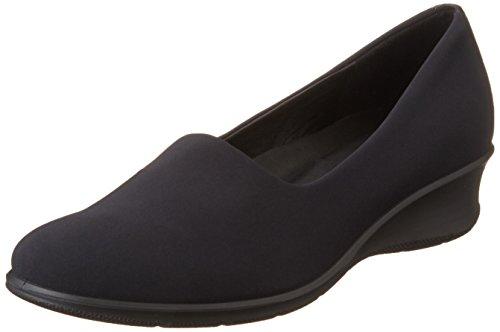 Ecco Womens Felicia Stretch Flat, Black, 38 EU/7-7.5 M US