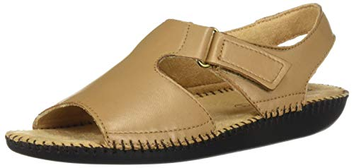 Naturalizer Women's Scout Flat Sandals, Biscuit, 6.5
