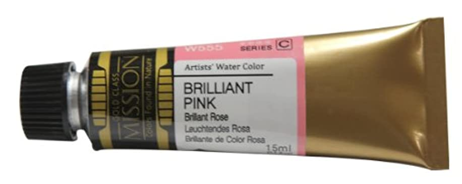 Mission Gold Water Color, 15ml, Brilliant Pink