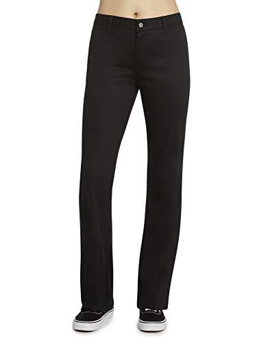 Dickies Girl Junior's Worker Boot Cut Pant, Black, 0