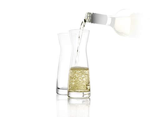 STÖLZLE LAUSITZ Karaffen 6er Set Serie Universal Variante M 250 ml I gläserne Spirituosenkaraffe I Milchkaraffe I aus feinem Kristallglas I bruchresistent und spülmaschinenfest