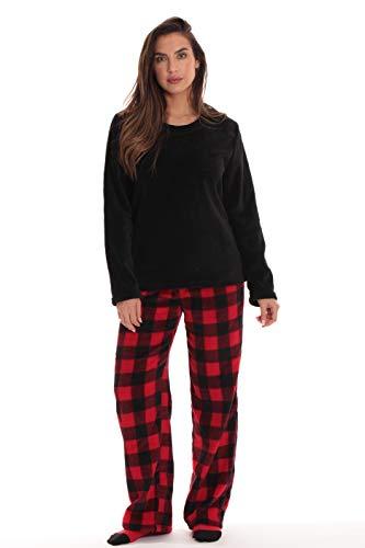 Just Love Womens Microfleece Pajama Pants Set with Socks 6734-10195-XL
