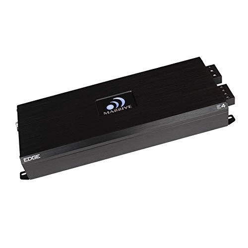 Save %13 Now! Massive Audio E4 - Car Audio 4,000 Watt Nano Edge Series, Monoblock Car Amplifier, Bas...