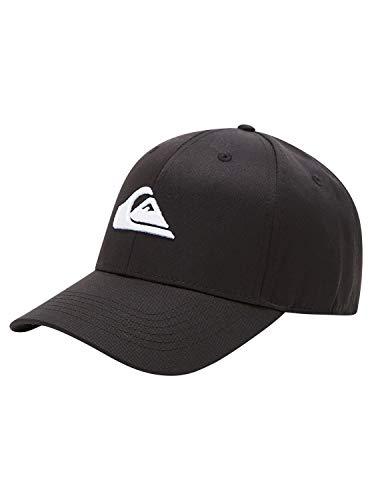Quiksilver Herren Decades - Snapback-Cap für Männer Kappe, Black, 1SZ