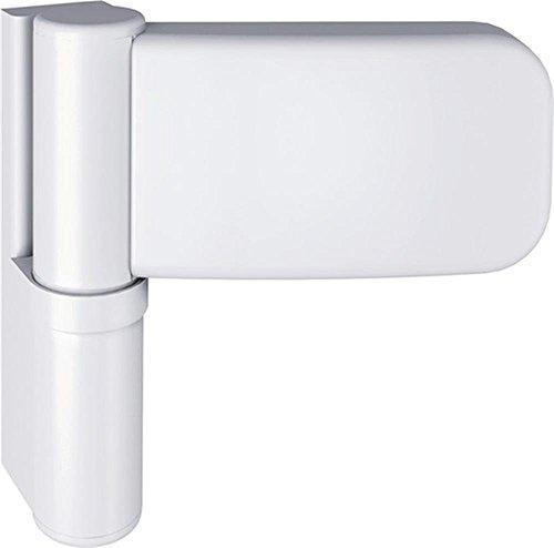 Haustürband Siku 3D K 3030, stahl, weiß, 1 Stück
