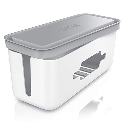 Beasrware - Caja para cables - Organizador para cables -Caja para cables - Caja para esconder cables