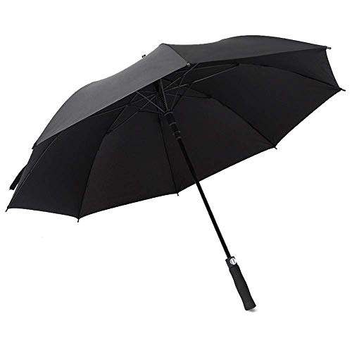 Umbrella Travel Umbrella Umberllas Golf Umbrella for Men Women Gentlemen and Ladies Sun Protection Umbrella 190T Windproof Durable