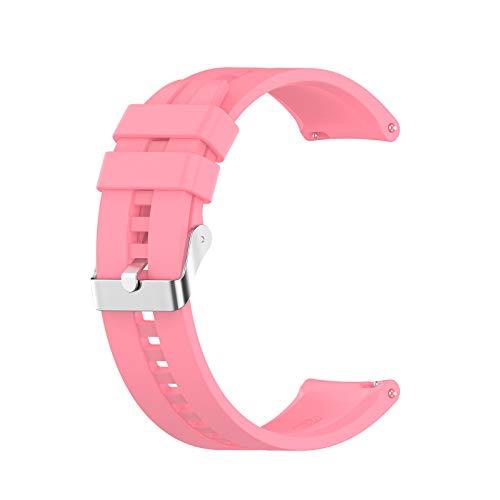 APOKIOG Correas Reloj para Huami Amazfit GTR 2e / GTR2 Correa Universal 22mm Reemplazo de Silicona para Fitness