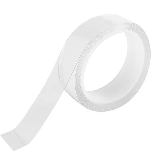 Jalan Transparent Dichtungsbänder Selbstklebend Klebebanddichtungen PET Acrylband Wasserdicht Isolierbänder für Badezimme Küche Toilette Ecke und Ränder feuchtigkeitsfest Anti-Kratzer, 30mm x 3M