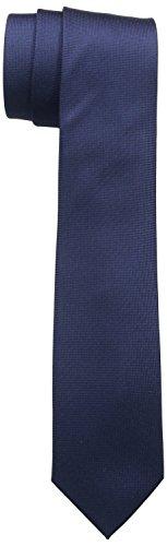ck Calvin Klein Herren Krawatte, Gr. One Size (Herstellergröße: OS) Blau (Midnight 402)