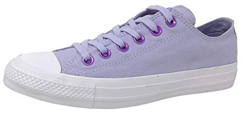 Converse Chuck Taylor All Stars, Zapatillas Unisex Adulto, Morado (Oxygen Purple/Washed Lilac 000), 39.5 EU