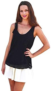 Hipster Qt7890Bl-S Tank Top For Women - S