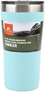Ozark Trail 20-Ounce Double-Wall, Vacuum-Sealed Tumbler (1, Teal)