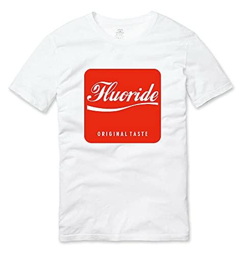 Fluoride Taste Anti Social Engineering Conspiracy T Shirt White White S