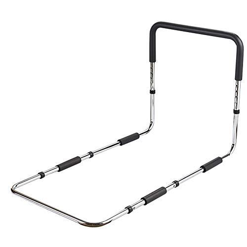 Barrière de lit pour Personnes âgées, Garde-Corps de lit réglable en Hauteur avec Main Courante en éponge Noire Essential Medical Supply