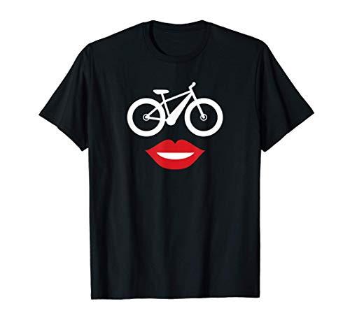 Ebike Mom Happy Face E-bike for Mom T-Shirt