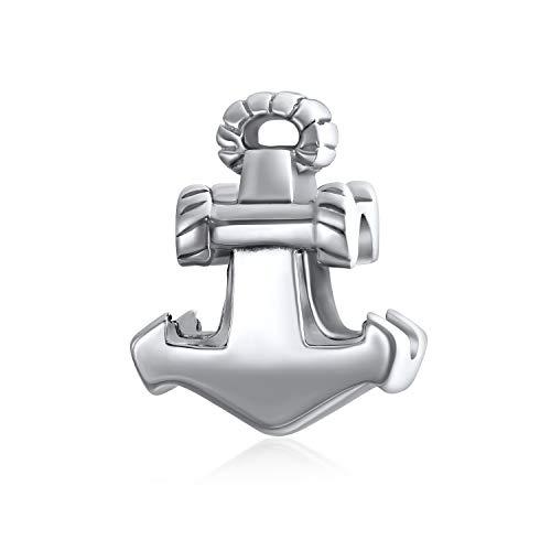 Nautisch Boot Anker Seil Urlaub Reise Charme Perle Für Frauen Für Teen 925 Sterling Silber Passt Europäische Armband