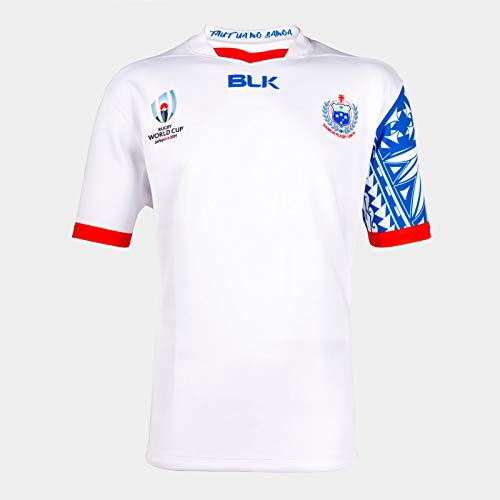 blk Samoa Rugby World Cup Alternate Replica Jersey (XXX-Large) White