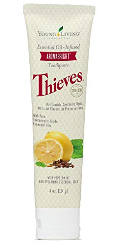 Young Living Essential Oil Thieves Aromabright Toothpaste 4 oz. by Young Living