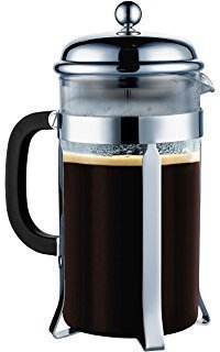 Brewmaster French Press Gourmet Coffee and Tea Maker 34 oz Carafe – 8 Cups