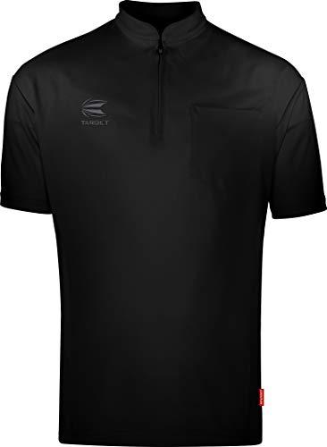 Target Darts Coolplay Kragenlos Pro Darts Shirt Schwarz S