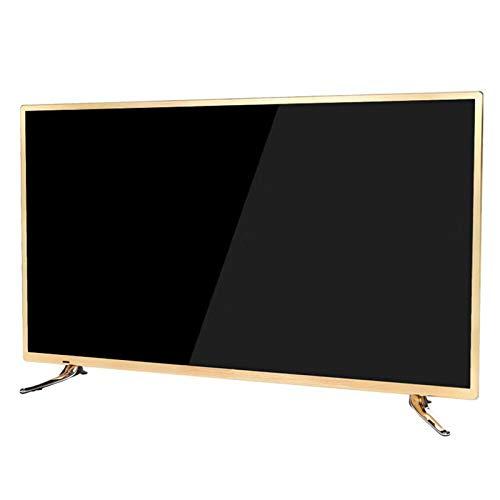 Televisori da 60 Pollici, Smart TV 4K Ultra HD HDR Android TV DVB Compatibile Wi-Fi USB HDMI LED Smart TV Design Stretto per Soggiorno Camera da Letto 32 42 55 60 Pollici