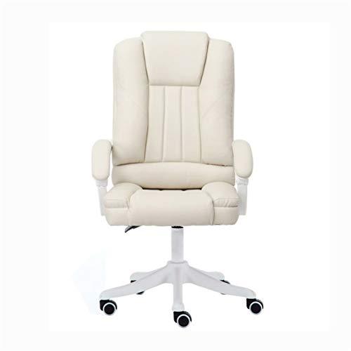 TJLSS Silla de oficina, oficina en casa, oficina con diseño de apoyabrazos, silla giratoria de respaldo alto (color: multicolor)