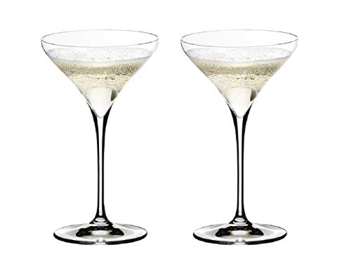 Riedel 0403/17 Vitis Martini Glass, Set of 2, One Size, Clear