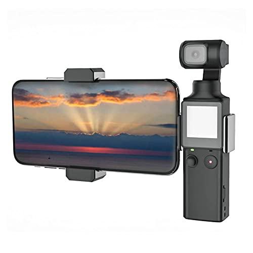 Mini Agarre del estabilizador del trípode del teléfono con luz LED 6000K, Soporte para Montaje en teléfono Celular Trípode de Mesa Luz de Video para cámara de Mano FIMI Palm