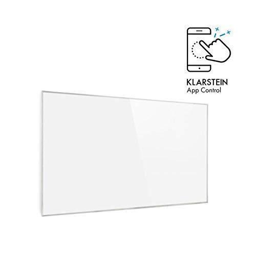Klarstein Wonderwall White Edition - Calefactor infrarrojos
